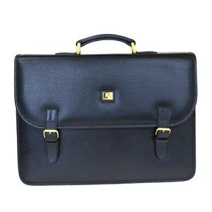 Auth Burberry Business Hand Bag Leather #5222B24B